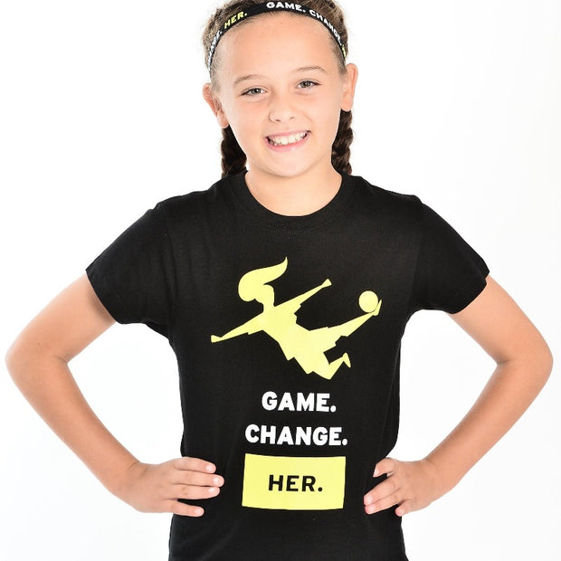 Youth Game. Change. Her. T-shirt