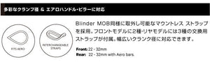 BLINDER MINI DOT リア (BLACK)