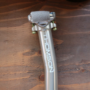 MASTERPIECE SEATPOST SETBACK (SILVER)