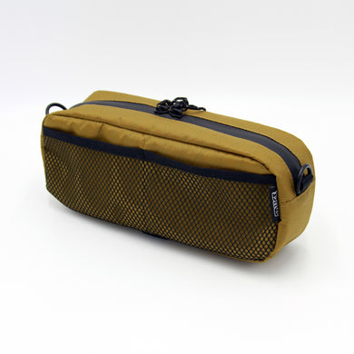 MESH POCKET BAR BAG X-PAC  (コヨーテ)
