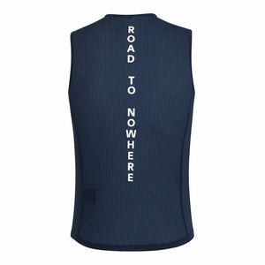 SLEEVELESS BASELAYER (NAVY)