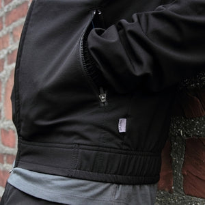 Midweight wwr track jacket (BLACK)