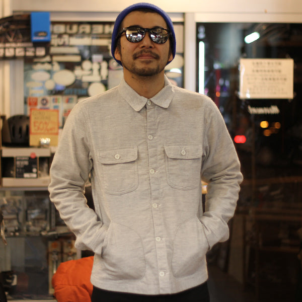DEFENDER FLANNEL SHIRT (OATMEAL)