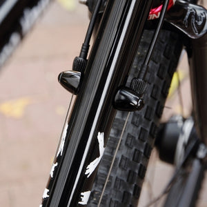 Downtube cable adjuster (ALL BLACK)