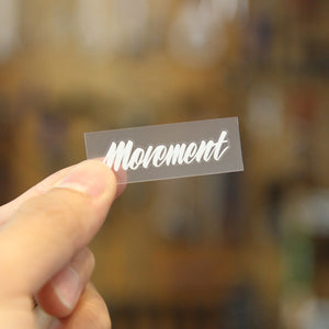 MOVEMENT LOGO STICKER 小