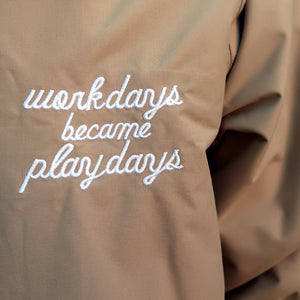 PLAYDESIGN NOSTRESS JACKET (SOIL)