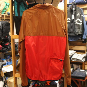 Block Breaker Jacket (BROWN/RED)