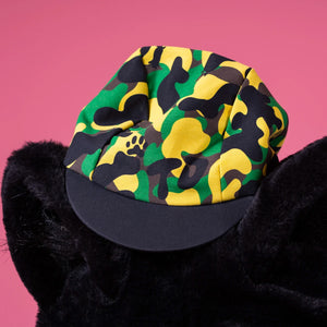 Camo Cycling Caps