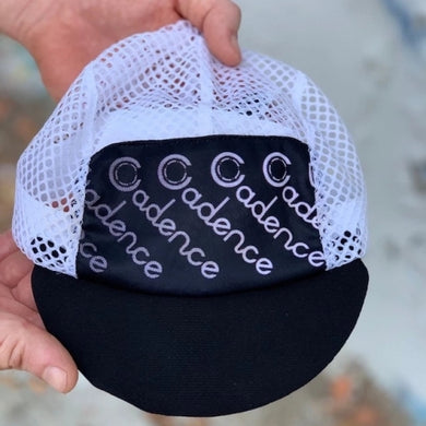 FADED MESH CAP (BLACK)