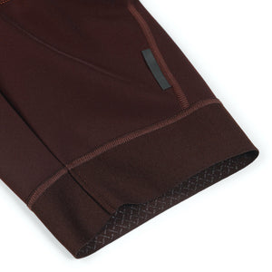CONTROL FLEECE BIB (DARK RED)