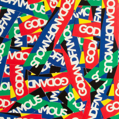 RAINBOW BOX LOGO STICKER