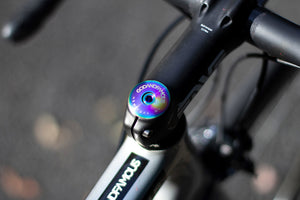 TEAM TITANIUM TOP CAP (OIL SLICK)