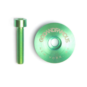 TEAM TITANIUM TOP CAP (GREEN)