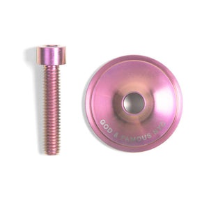 TEAM TITANIUM TOP CAP (SOFT PINK)