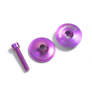 TEAM TITANIUM TOP CAP (PURPLE)