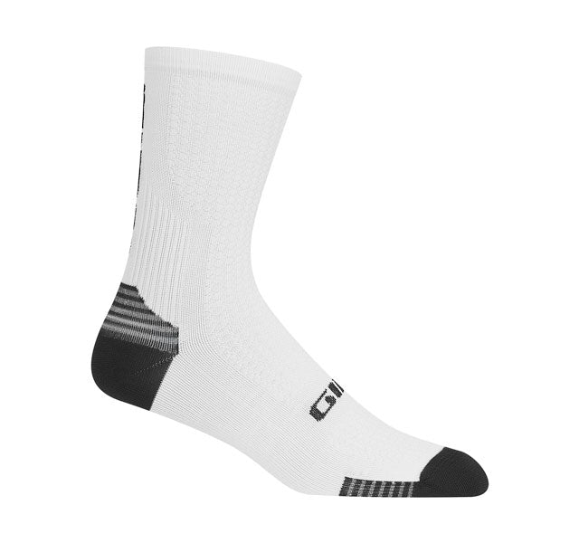 HRc+GRIP SOCKS (WHITE/BLACK)