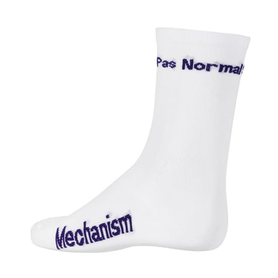 PNS LOGO SOCKS (WHITE PURPLE)