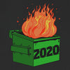 2020 Dumpster Fire Novelty 2020 Bad Year T-Shirt