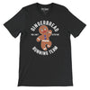 Gingerbread Running Team funny Gingerbread Man T-Shirt