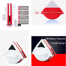 Load image into Gallery viewer, Magnetic Double Sided Window Cleaner