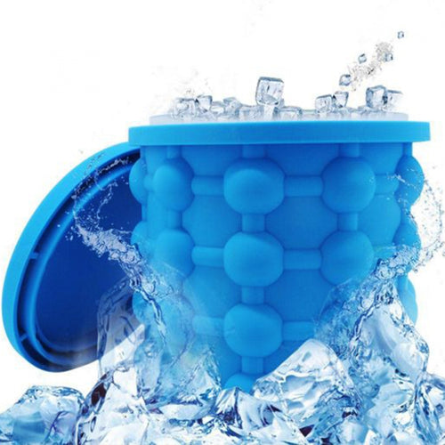 2-in-1 Ice Cube Maker & Bucket