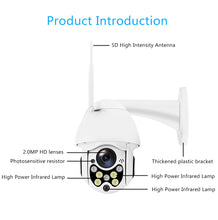Load image into Gallery viewer, 1080P Wireless Wifi Security Camera