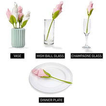 Load image into Gallery viewer, Flower Napkin Holders (4 Pieces)
