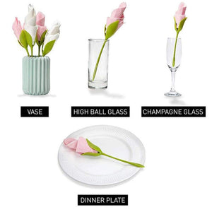 Flower Napkin Holders (4 Pieces)