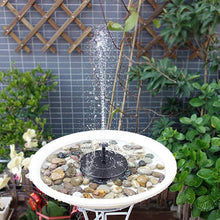 Load image into Gallery viewer, Solar Garden Fountain
