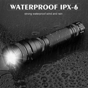 Worlds Brightest Rechargeable Flashlight Torch