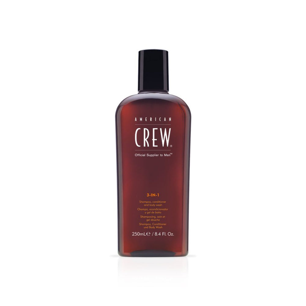 American Crew 3-in-1 Shampoo, Conditioner & Duschgel