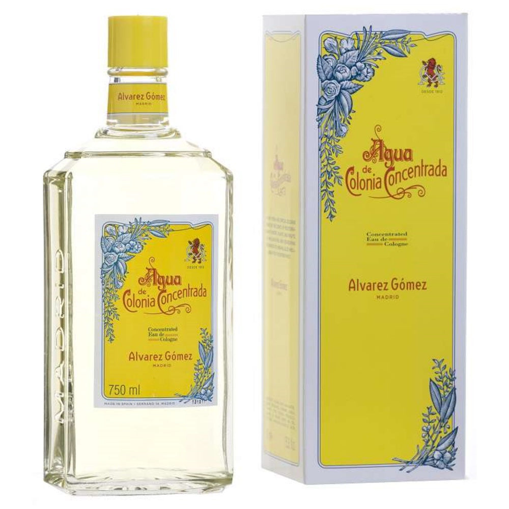 Alvarez Gomez Concentrated Eau de Cologne Splash 750 ml