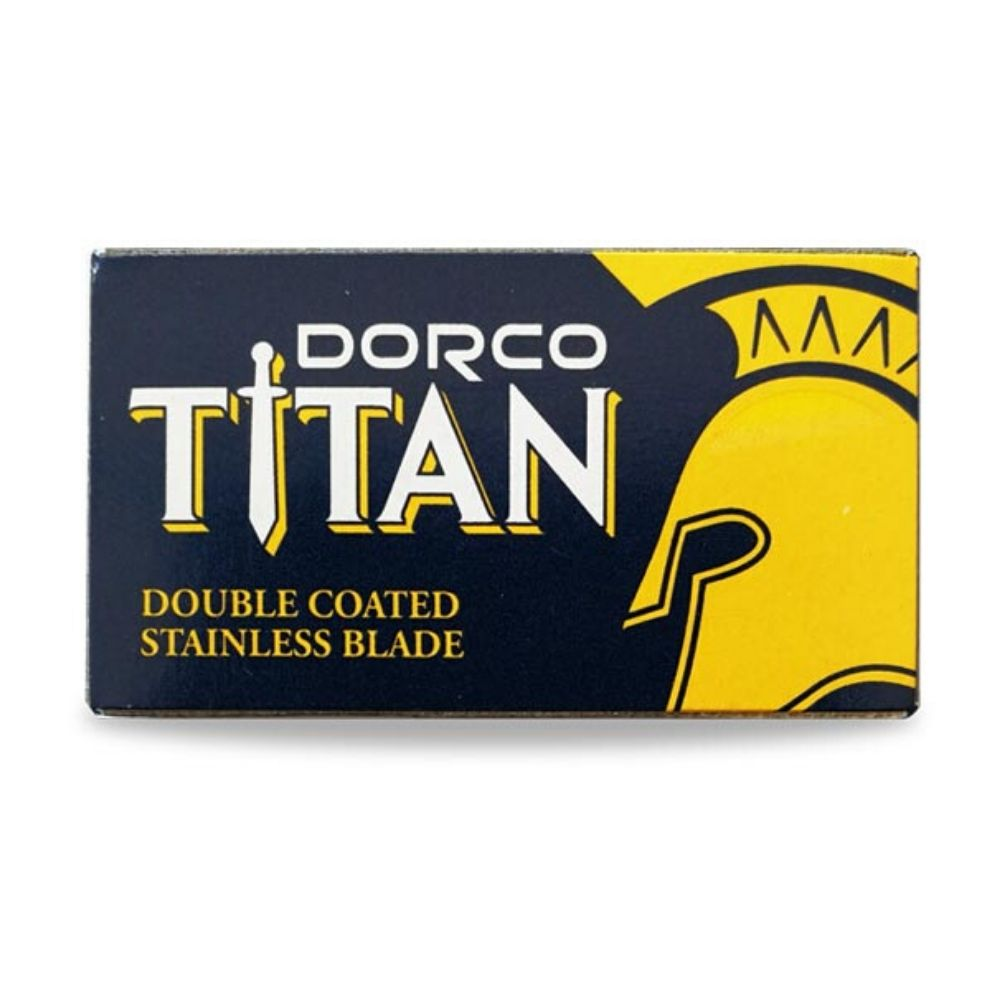 Dorco Titan Double Edge Rasierklingen (10 Stk.)-The Man Himself