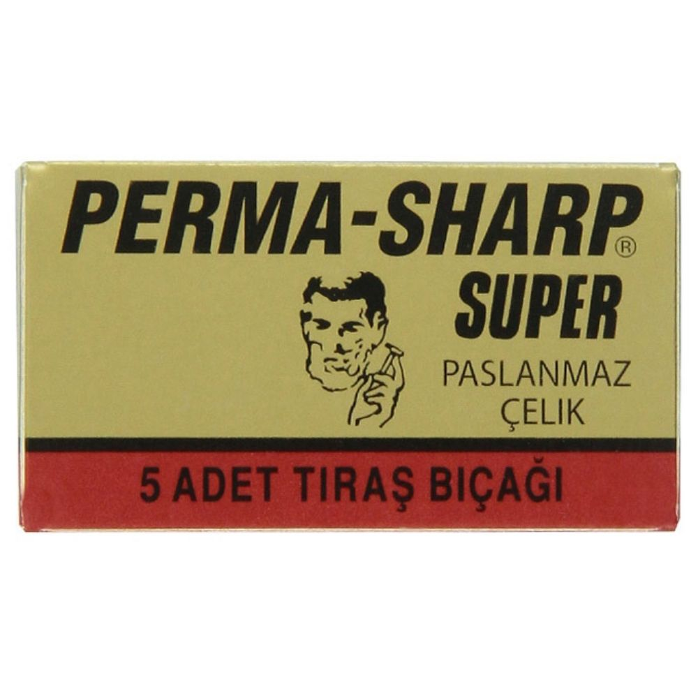 Perma-Sharp Super Double Edge Rasierklingen (5 Stk.)