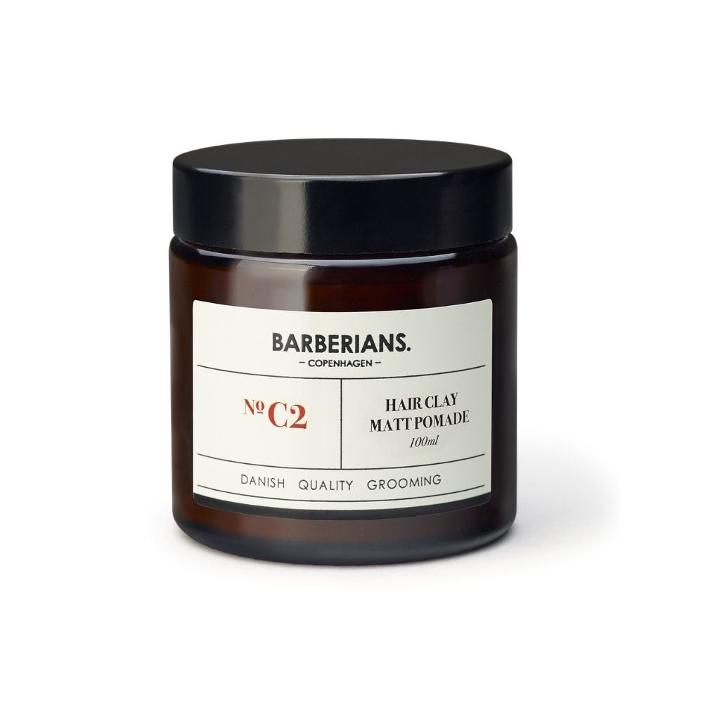 Barberians Hair Clay Matt Pomade 100ml