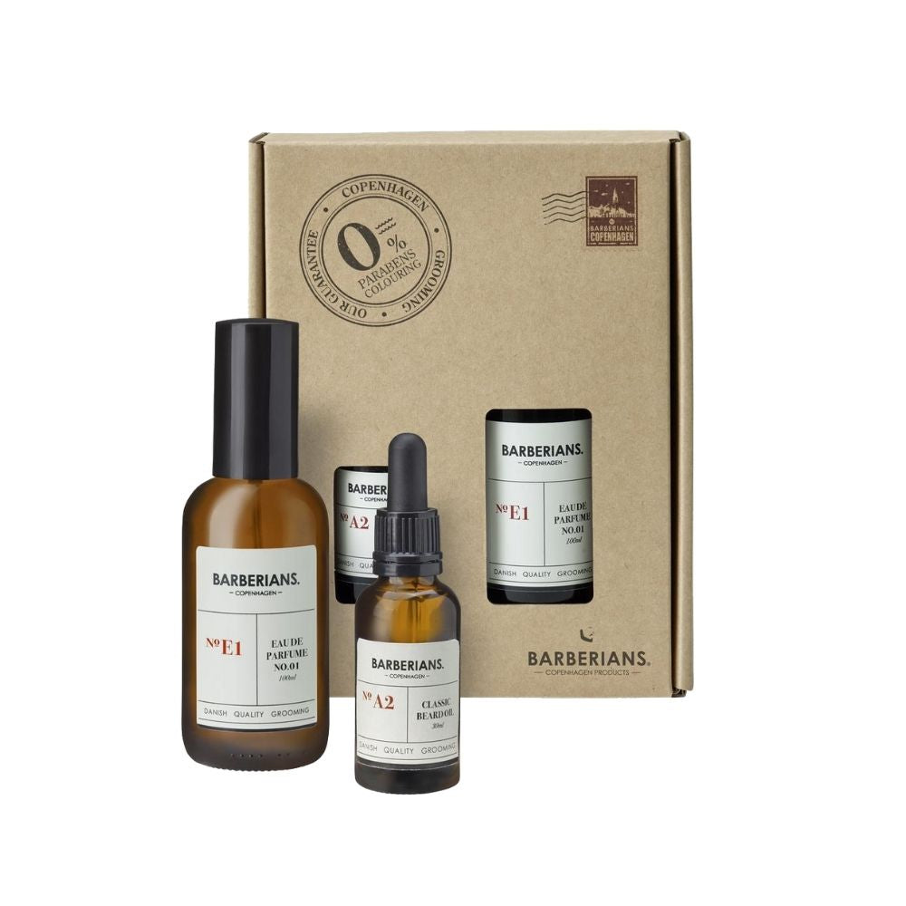Barberians Men with Beard Set - Geschenkset