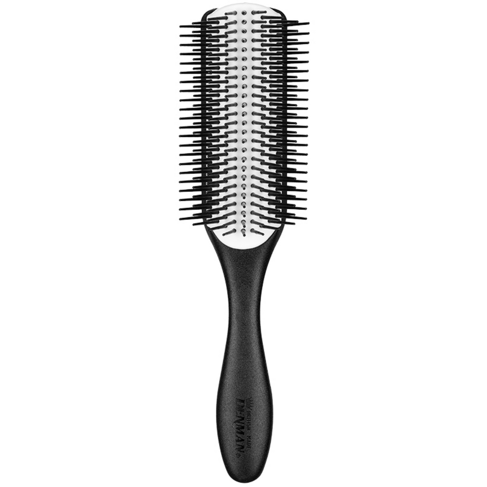 "Denman D4N Black Range ""Noir"" Styling Brush - Große Stylingbürste 9-reihig-The Man Himself"