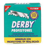 Derby Professional Single Edge Rasierklingen (100 Stk.)