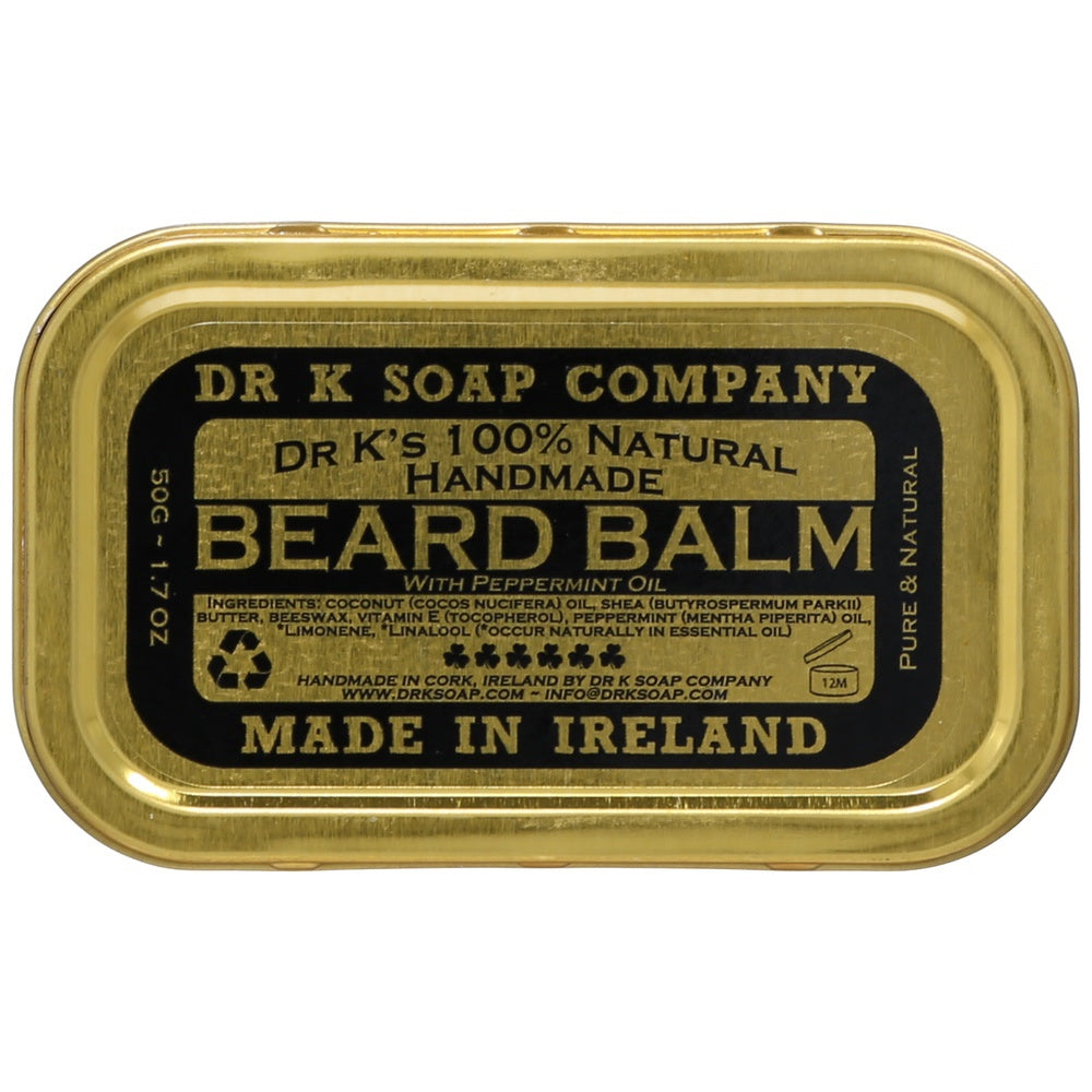 Dr K Soap Company Beard Balm - Peppermint - Bartbalsam-The Man Himself