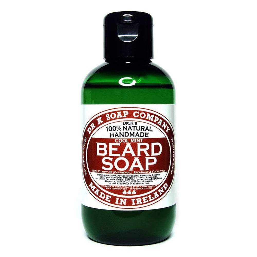 Dr K Soap Company Beard Soap - Cool Mint - Bartseife-The Man Himself