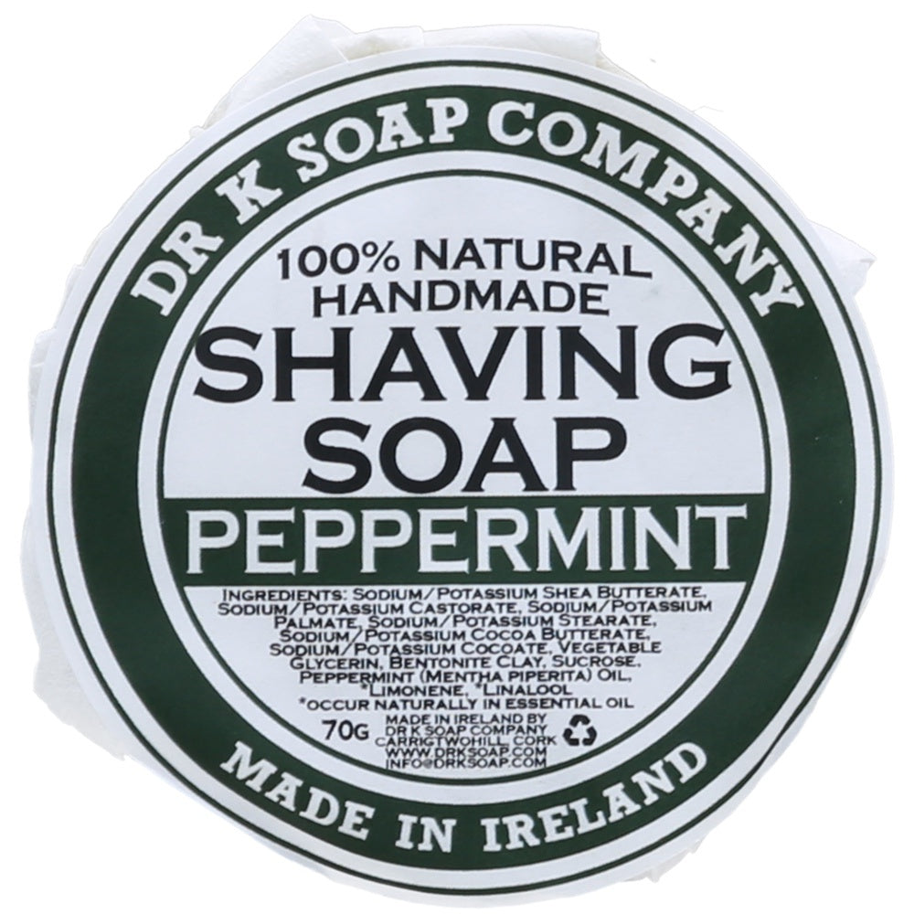 Dr K Soap Company Peppermint - Rasierseife-The Man Himself