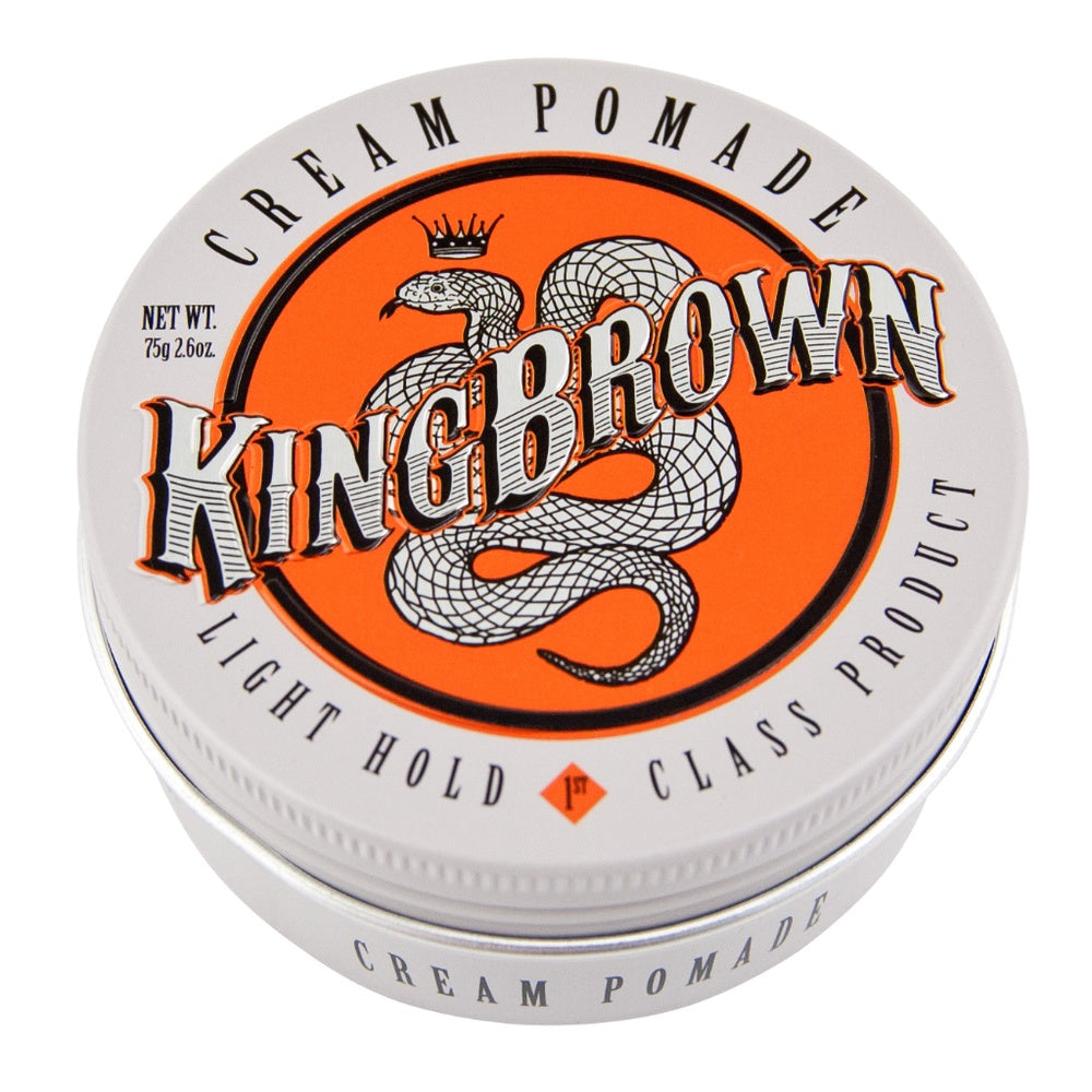 King Brown Cream Pomade-The Man Himself