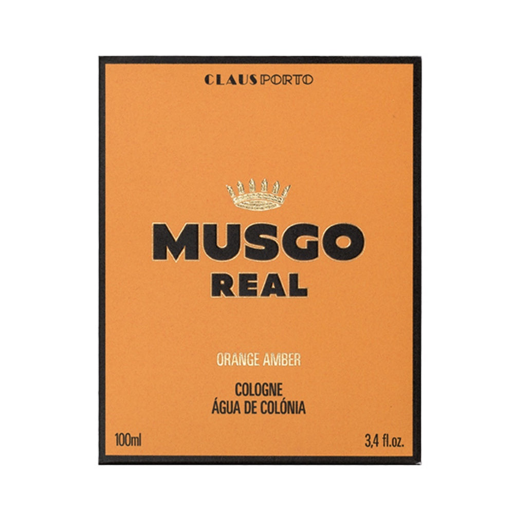 Musgo Real Eau de Cologne - Orange Amber-The Man Himself