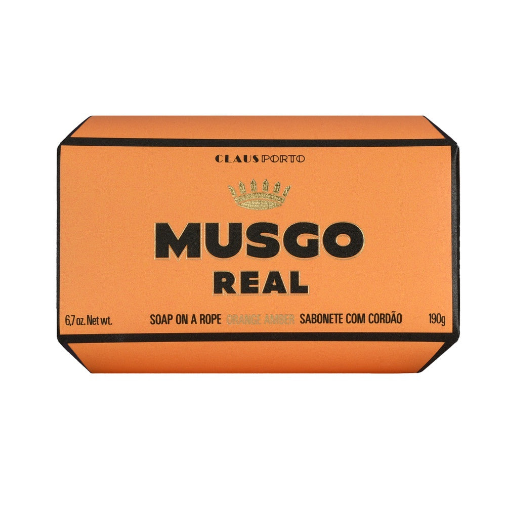 Musgo Real Soap on a Rope - Orange Amber - Kernseife