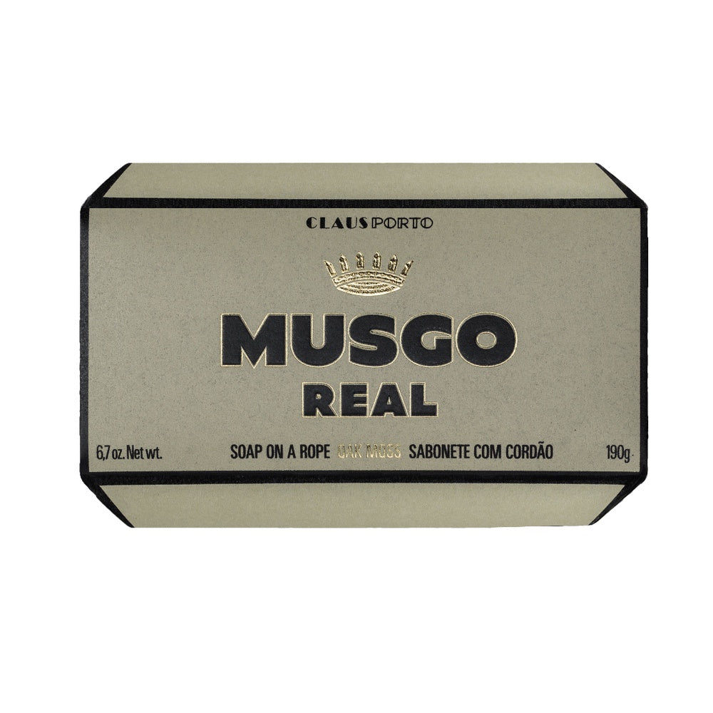 Musgo Real Soap on a Rope - Oak Moss - Kernseife