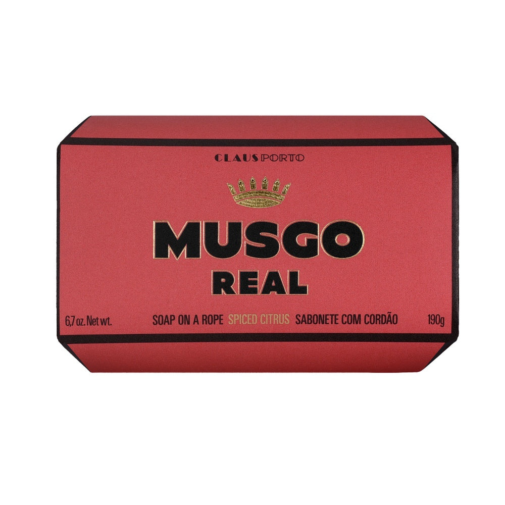 Musgo Real Soap on Roap - Spiced Citrus - Kernseife-The Man Himself
