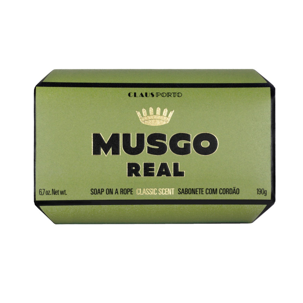 Musgo Real Soap on a Rope - Classic Scent - Kernseife