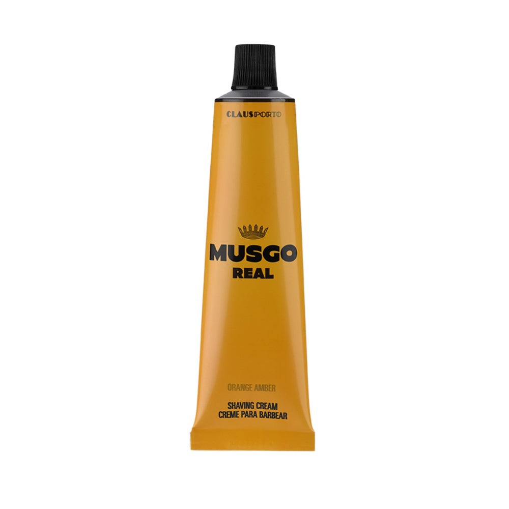 Musgo Real Shaving Cream - Orange Amber - Rasiercreme