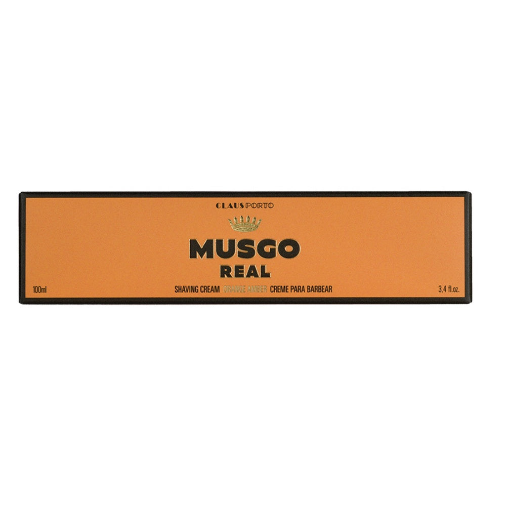 Musgo Real Shaving Cream - Orange Amber - Rasiercreme-The Man Himself