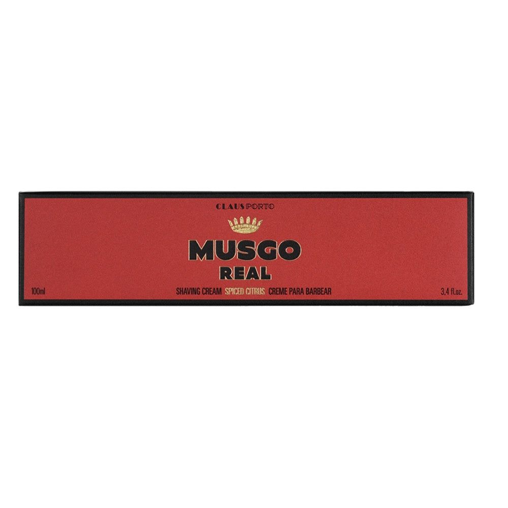 Musgo Real Shaving Cream - Spiced Citrus - Rasiercreme-The Man Himself